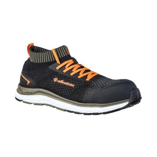 Albatros Ultimate Impulse Low Shoes- Safety Black/Olive